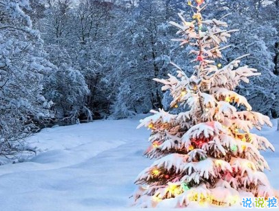 冬天下雪天文案唯美带图片 抖音最火下雪天说说4