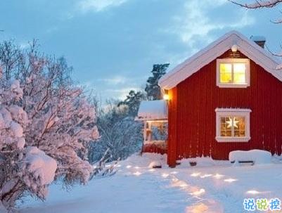 冬天下雪天文案唯美带图片 抖音最火下雪天说说11