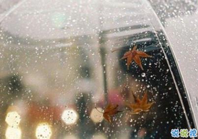 下雨天浪漫文案 雨天浪漫唯美说说带图片9