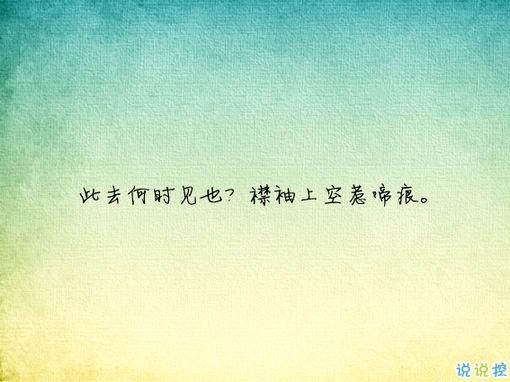 唯美有意境古诗句子带图片 写入心间的伤感诗句8