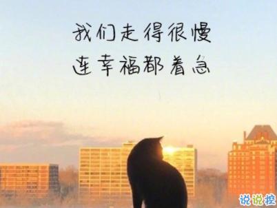 经典文艺短句子带图片 越努力越幸运5